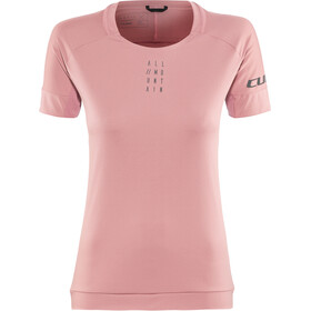 Cube AM Round Neck Jersey shortsleeve Dame rose